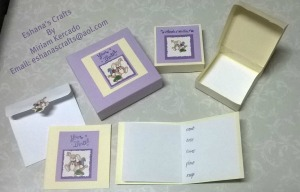 Invitation and Party Favor Set